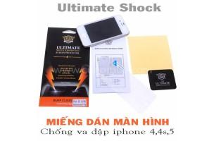 Miếng dán Iphone 4, 4s, 5s chống vỡ, va đập (2in1)
