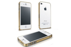 VIỀN KIM LOẠI IPHONE 4/4S CROSS LINE
