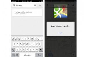 Hướng dẫn cách lưu bản đồ offline trên Google Maps 2.0 dành cho iOS