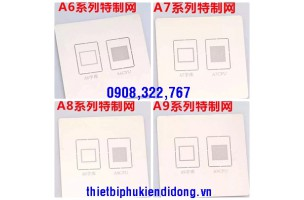 VỈ IC IPHONE A6, A7, A8, A9, A10